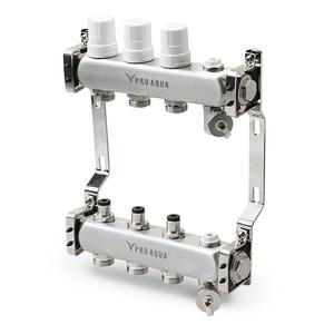 Коллекторный блок PRO AQUA с регулировочными клапанами