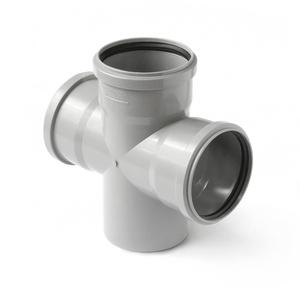 Крестовина одноплоскостная Polytron Comfort для внутренней канализации 87,5°