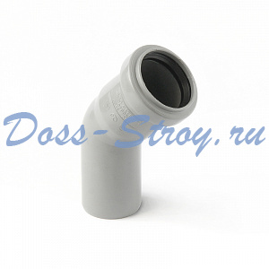 Отвод Polytron Comfort для внутренней канализации Отвод 45°