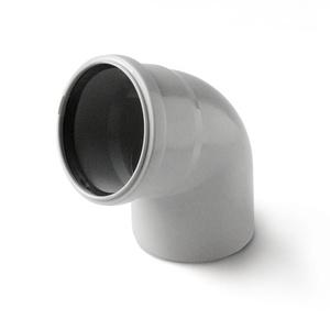 Отвод Polytron Comfort для внутренней канализации Отвод 67°