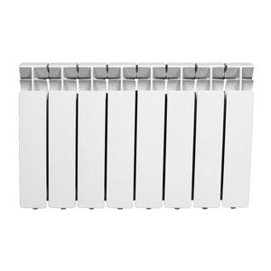 Радиатор алюминиевый 350х80 , 8 секций