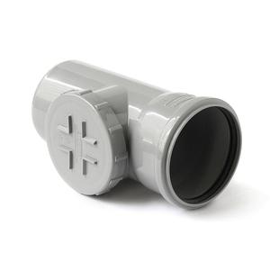 Ревизия с крышкой Polytron Comfort для внутренней канализации