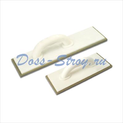 Терка резиновая для швов DEKOR 115х385 мм пластиковая длинная