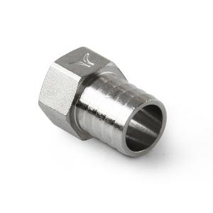 Штуцер латунный резьбовой Pro Aqua под шланг с внутренней резьбой