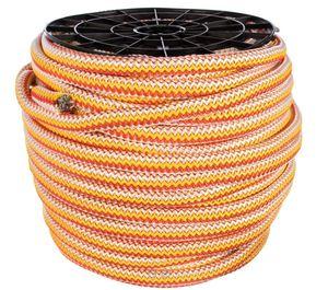 Вязаный полипропиленовый шнур цветной катушка 20мм х 100м