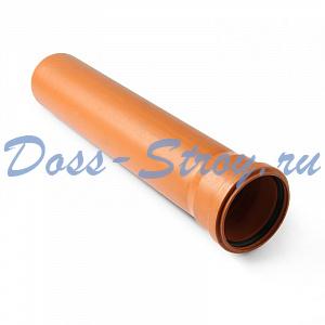 Труба для наружной канализации класс жесткости SN4 Polytron Terra 110x2000