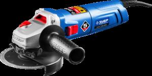 Углошлифовальная машина болгарка ЗУБР пылезащита 125 мм 11000 об/мин 850 Вт