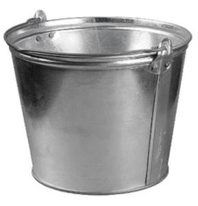 Ведро оцинкованное для непищевых продуктов 15 л